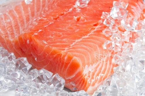 Мясо лосося