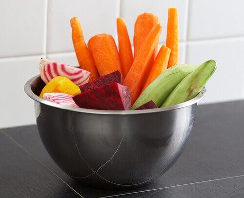 овочі допомагають втамувати голод