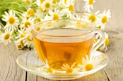 Ромашковий чай для кишечника