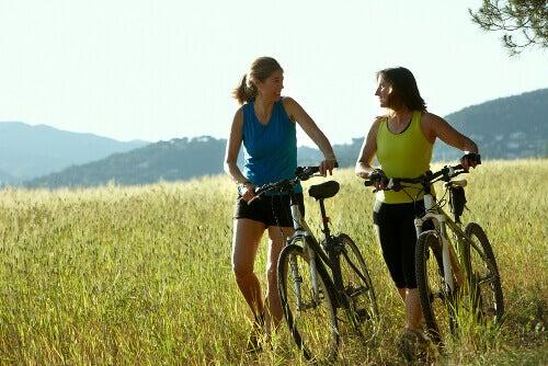 Вправи на велосипеді