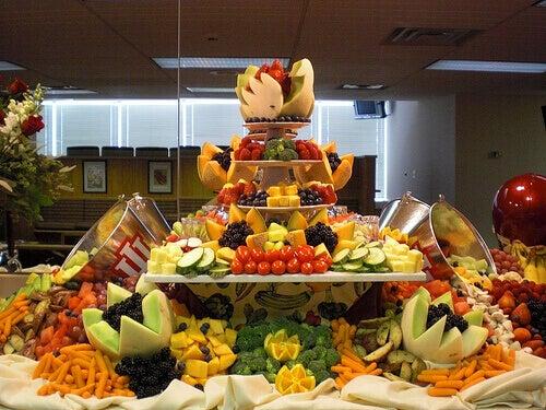 овочі та фрукти з найнижчою калорійністю