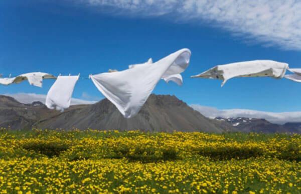 миючі засоби та прання