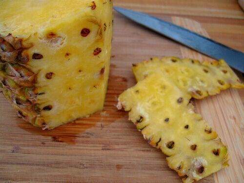 шкірка ананаса