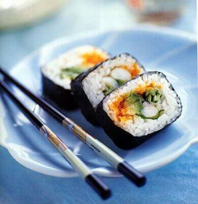Суші це японська дієта