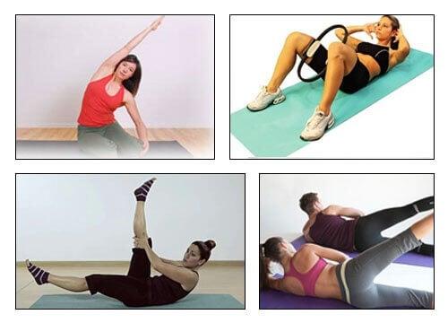 Вправи з пілатесу для стрункого тіла