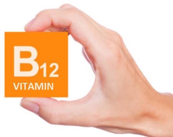 кубик із написом вітамін В12