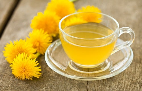 чай з кульбаби знижує рівень холестерину