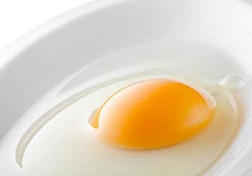 яйце для маски для волосся