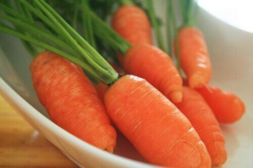 морква від бородавок
