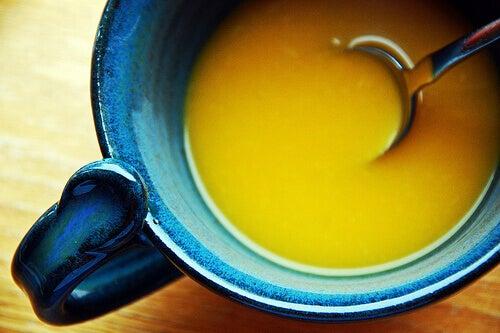 Суп для нирок із цибулі