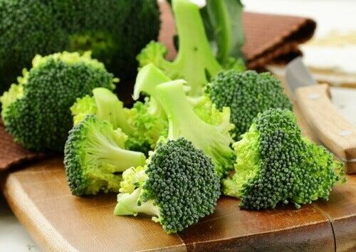 зелені овочі для жіночого здоров'я