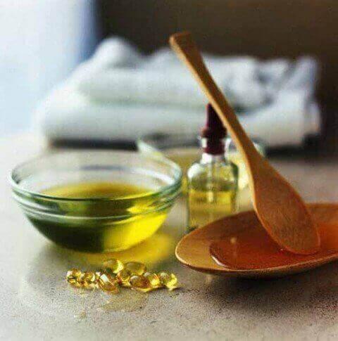 лимон та мигдільна олія для нігтів