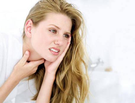 біль у горлі