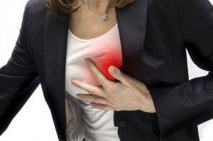 Симптоми серцевого нападу у жінок