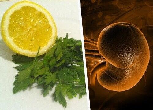 петрушка і лимон