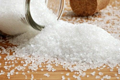 розсипана сіль