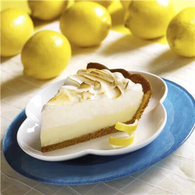шматок лимонного пирога
