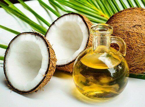 крем від зморшок містить основний інградієнт кокосову олію