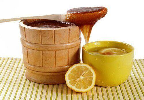 мед та лимон