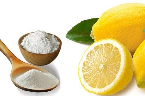харчова сода та лимон