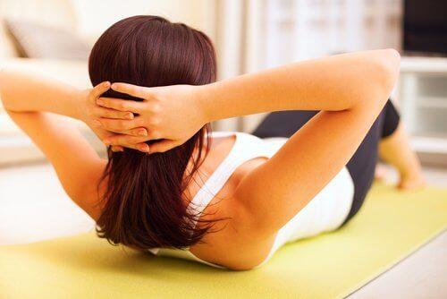 Фізичні вправи для м'язів живота