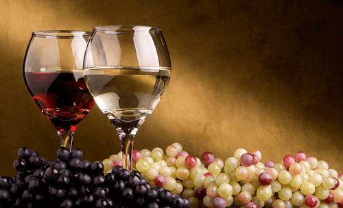 біле та червоне вино