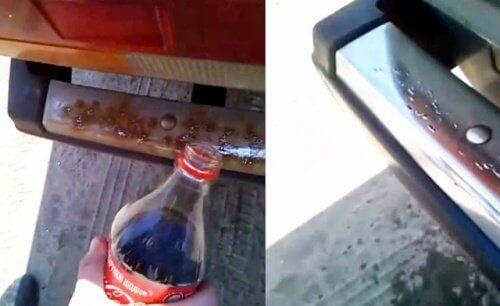 Coca-Cola видаляє іржу