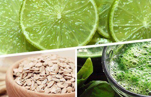 Три продукти для схуднення: лимон, овес і спіруліна