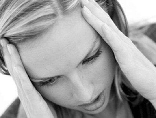 жінка стресується