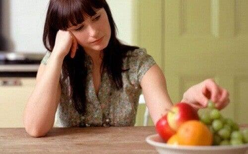відсутність апетиту у дівчині