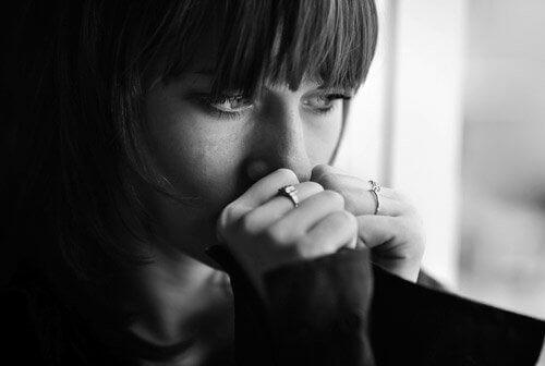 депресивна дівчина