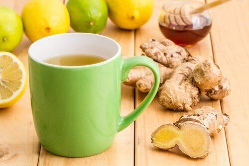 Чай з імбирем для підвищення лібідо