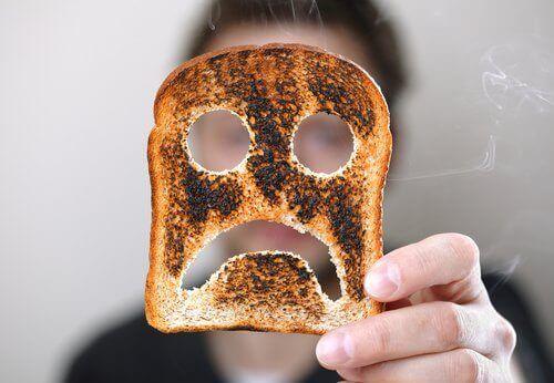 горілий тост