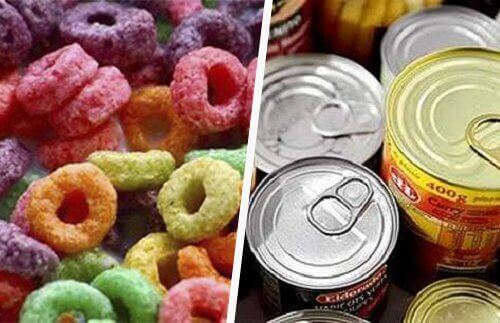 консерви та інші оброблені продукти