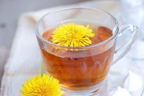 чай з кульбабою