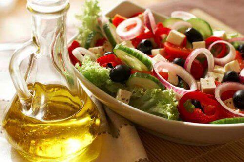 салат з овочами