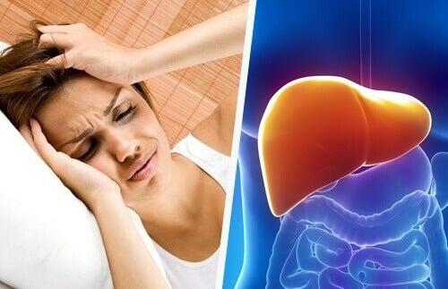 Як пов'язаніголовнийбіль і печінка