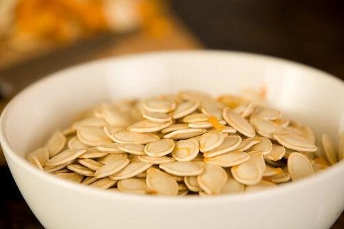 Гарбузове насіння покращує циркуляцію крові