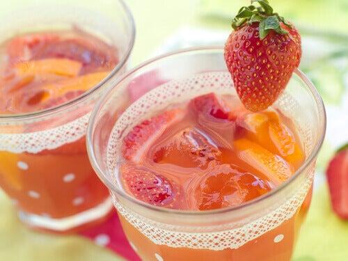 лимонад із полуниці