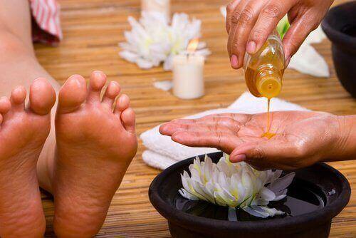 масаж для ніг