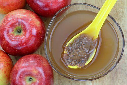 Яблучний оцет та мед