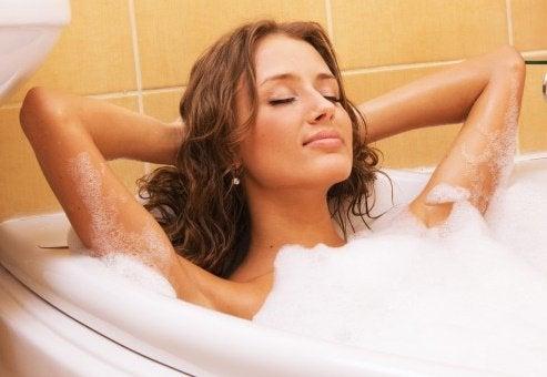 перекис водню та ванна після важкого дня