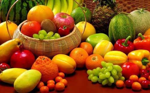 фрукти для шкіри