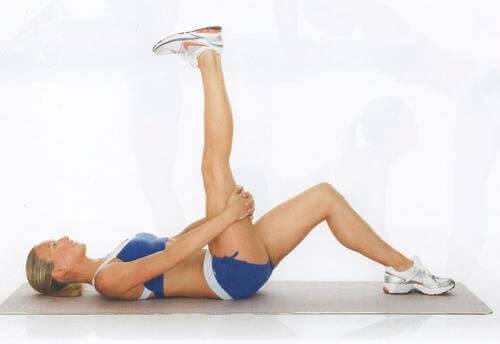 вправи на розтягування для зменшення болю сідничного нерва