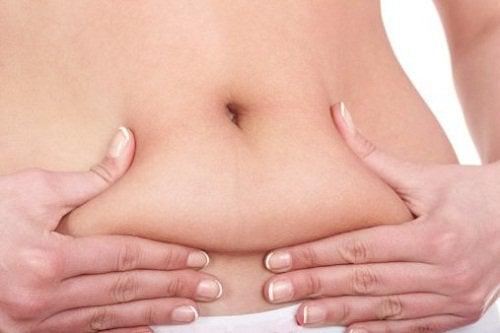 надлишковий жир в ділянці живота, як його позбутися за допомогою дієти для схуднення