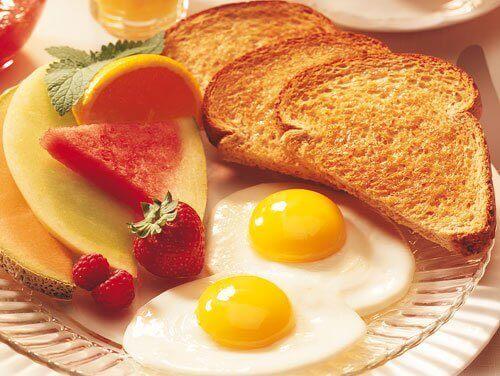 здоровий та смачний сніданок