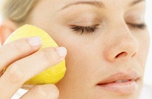Лимони для шкіри обличчя