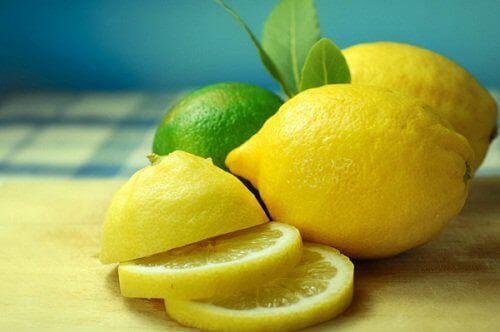 лимони та лайм