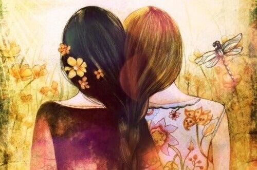 1 дівчата разом