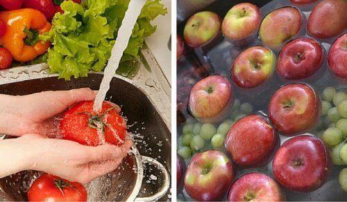 Як вимити пестициди з фруктів і овочів